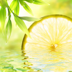 bigstock_Lemon_reflected_in_water_13208060